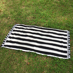 Stripe Black - Beach Towel/30%Sale/